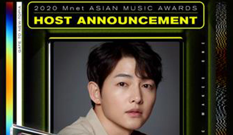 Saksikan Song Joong Ki sebagai Host MAMA 2020