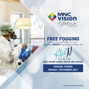 Hadiah FREE Fogging untuk Keluarga Vision yang Paling Setia!