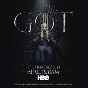 GAME OF THRONES S8 FLY AWAY CONTEST