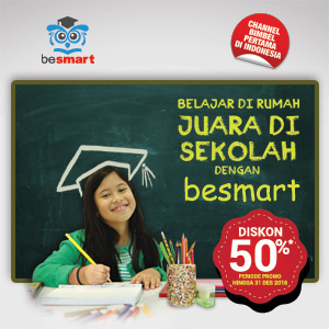 Promo Diskon 50% besmart Yearly Payment
