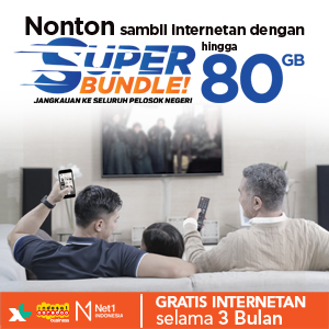 Paket Internet Super Bundle Net1, Axiata & Indosat Ooredoo