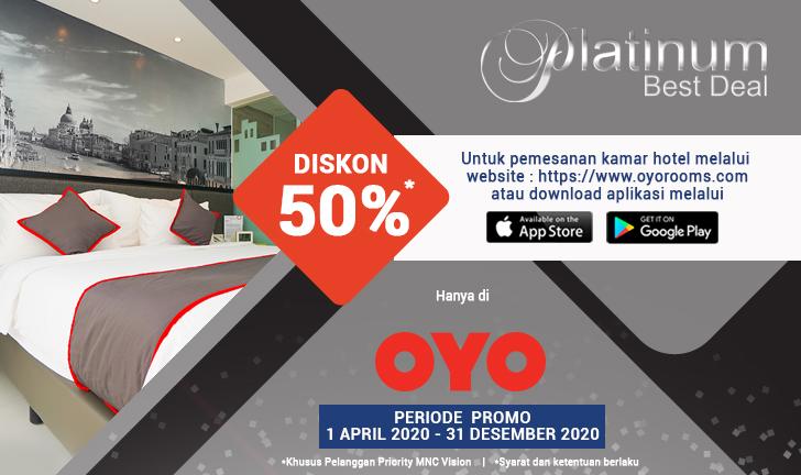 Mnc Vision Rewards Platinum Detail Dapatkan Diskon 50 Di Oyo Seluruh Indonesia